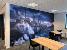 Kundenfoto: Storm in Neeltje Jans von Sander Poppe, auf nahtloser fototapete