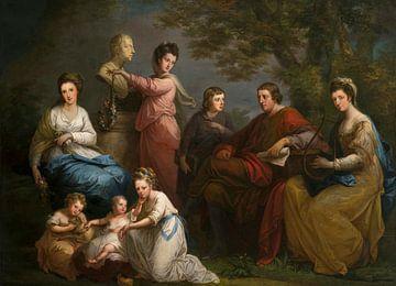 Die Familie des Grafen von Gower, Angelika Kauffmann