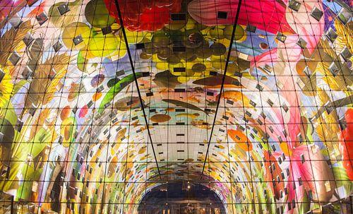 Bogen Markthalle Rotterdam von Ilya Korzelius