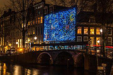 'Starry Night' aan de Herengracht van