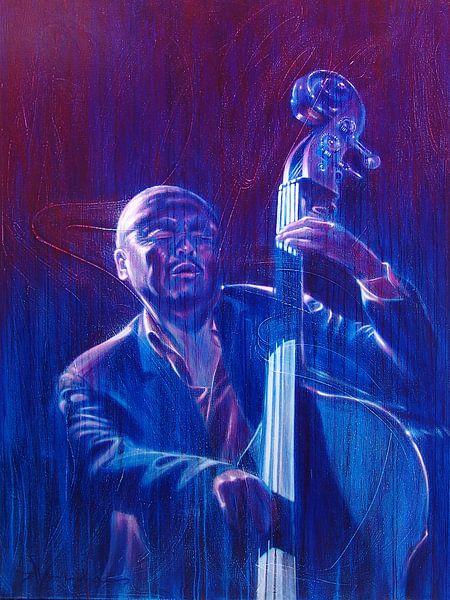 Jazz-Bassist / Bass Player van Frans Mandigers