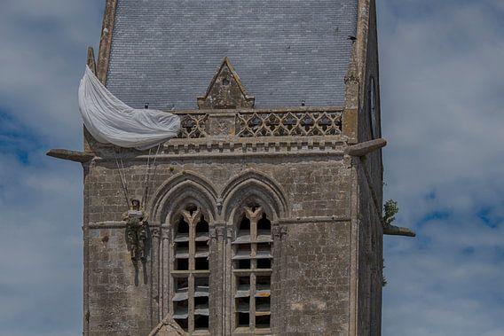 Sainte Mere Eglise  van Amsterdam Fotografie (Peter Bartelings)