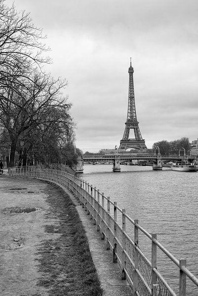 Eiffelturm in Paris von Loek van de Loo