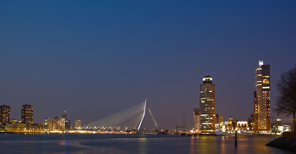 Rotterdam Centrum - Kop van Zuid van Guido Akster