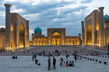 Registan Samarkand van