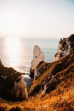 Frankrijk etretat normandie strand foto van Lindy Schenk-Smit