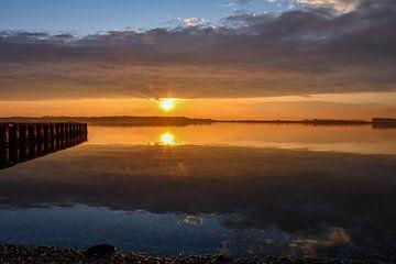 Zonsondergang bij het Veerse meer van bart hartman