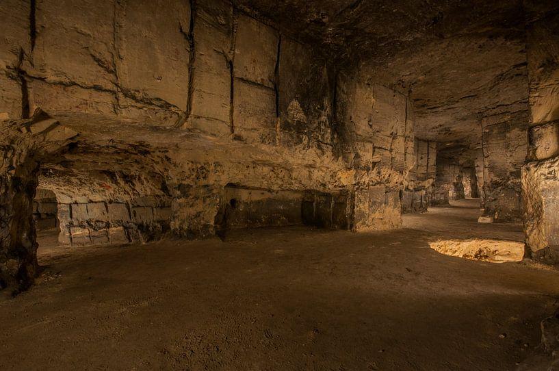 Underground limestone quarry von Bert Beckers