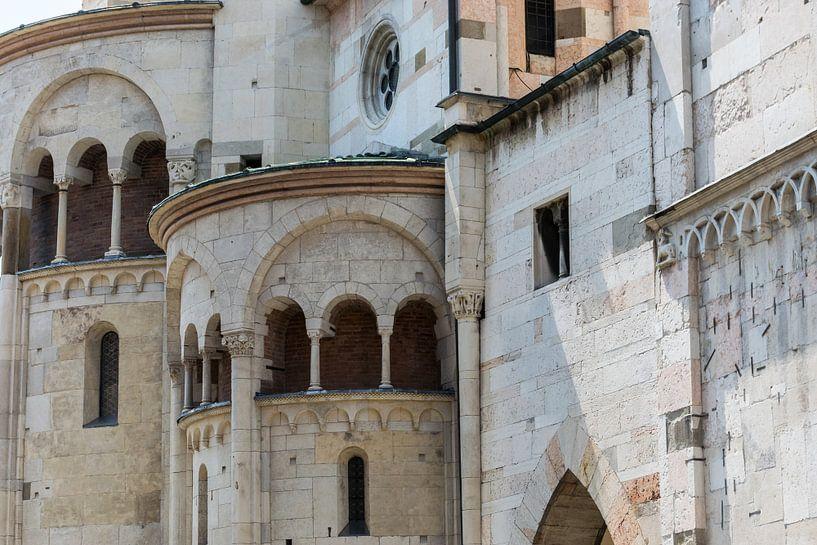 Modena, Duomo, detail van Patrick Verhoef