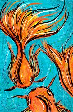 Koi von Jolanda Janzen-Dekker
