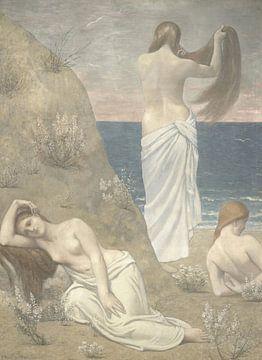 Junge Mädchen am Meer, Pierre Puvis de Chavannes