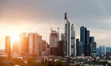 Frankfurt Skyline sur davis davis