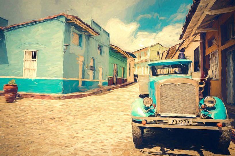 Oude truck in Sancti Spiritus. van Joris Pannemans - Loris Photography