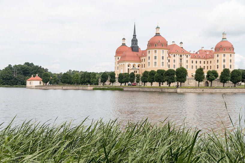 Een kasteel in het oosten van Duitsland van Rijk van de Kaa