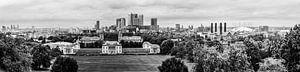 Panorama Greenwich Londen van