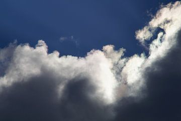 Wolken / Clouds van Maurits Bredius