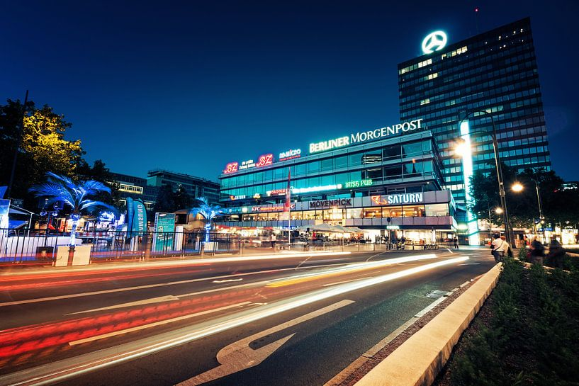 Berlin – Tauentzienstrasse van Alexander Voss