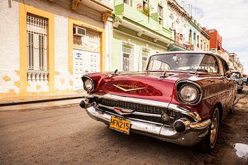 Chevrolet Oldtimer in Havanna, Kuba von Bart van Eijden
