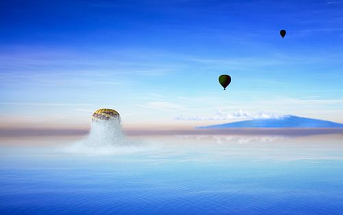 Ballon aus dem Ozean von Jan Brons