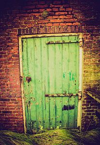 Schuur deur van