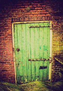 Schuur deur sur Tonny Visser-Vink