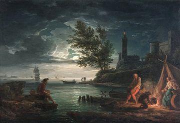 Vier Tageszeiten: Abend, Claude-Joseph Vernet