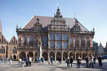 Altes Rathaus am Marktplatz , Bremen,