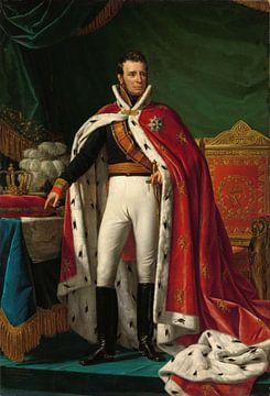 Portret van Willem I, koning der Nederlanden, Joseph Paelinck