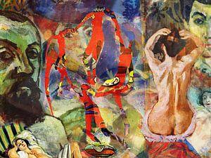 Masters at work, Henri Matisse von Giovani Zanolino