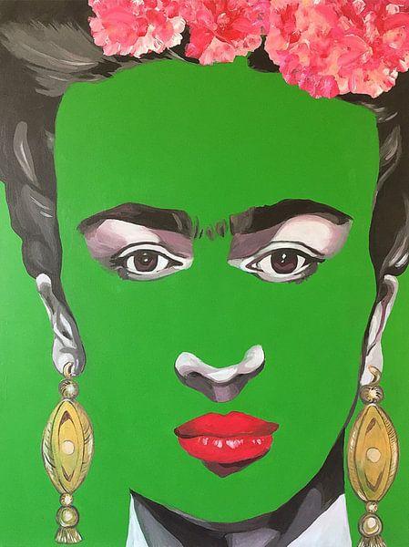 Frida Kahlo von Helia Tayebi Art