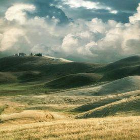 Toskanische Hügel von Lars van de Goor