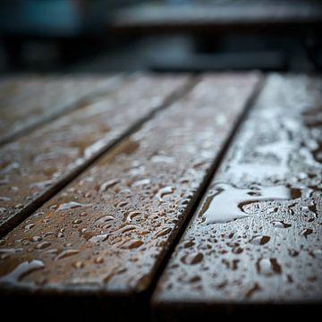 Regenachtig weer van Heiko Kueverling