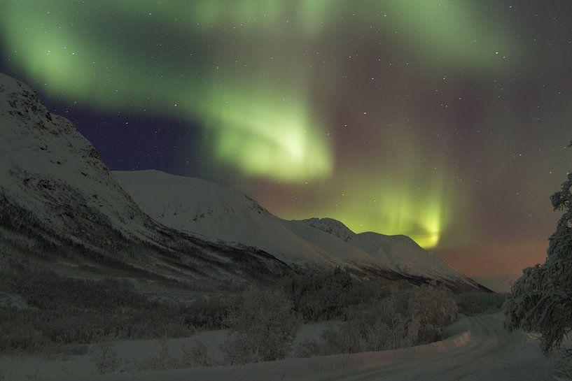 Noorderlicht op de noordpool van Fulltime Travels