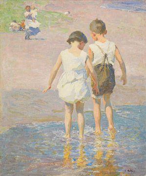 Edward Henry Potthast~Bruder und Schwester
