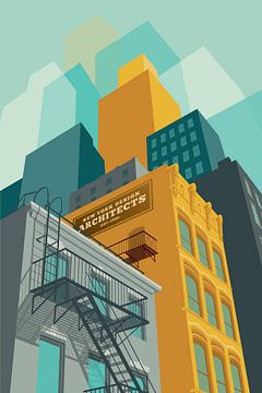 Tribecca NYC van Remko Heemskerk