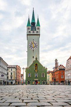 Stadt Straubing Stadtplatz von Thilo Wagner