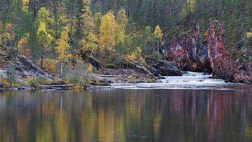 Herbst in Finnland von Willemke de Bruin