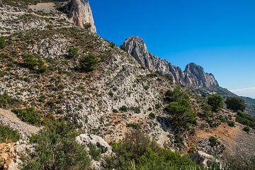 Berglandschaft - Sierra de Bernia von Montepuro
