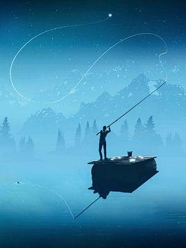 La pêche aux étoiles sur Michaela Spatz