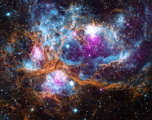 Kosmisch wonderland van