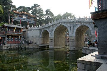 Palais d'été de Pékin Long pont sur la rivière Suzhou 01 sur Ben Nijhoff