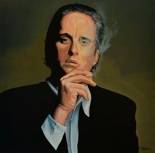 Michael Douglas Schilderij van