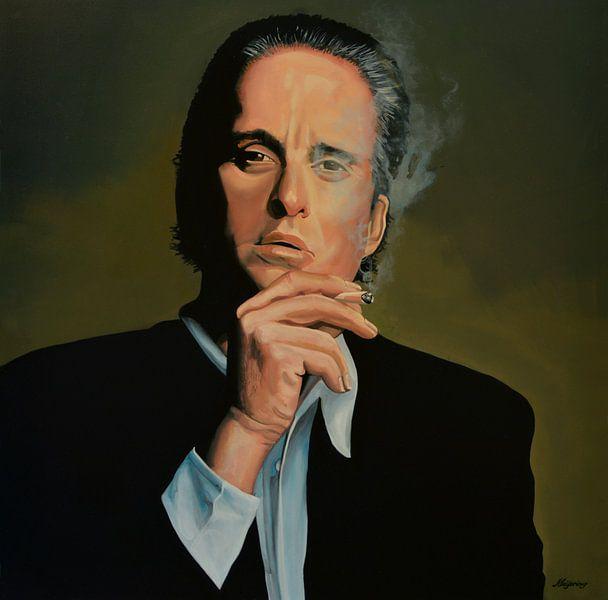 Michael Douglas Schilderij van Paul Meijering