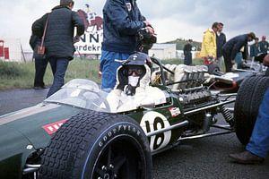 Dan Gurney 1968 Grand Prix Zandvoort van Harry Hadders