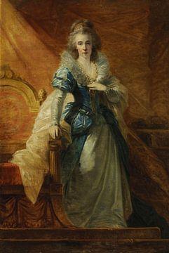 Portrait de l'impératrice Maria Ludovica (1745-1792), Heinrich Füger sur
