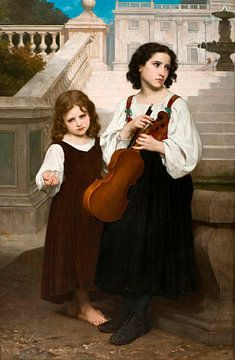 Weit weg von zu Hause, William-Adolphe Bouguereau