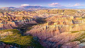 Andalusian canyonland van Steven Driesen