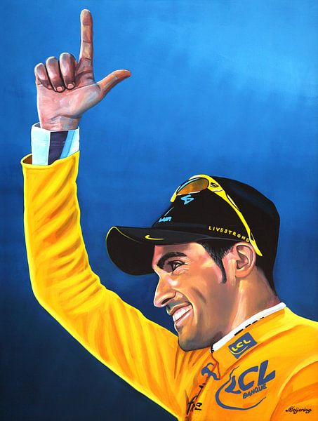Alberto Contador van Paul Meijering