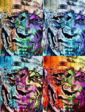 Morgan Freeman van zam art
