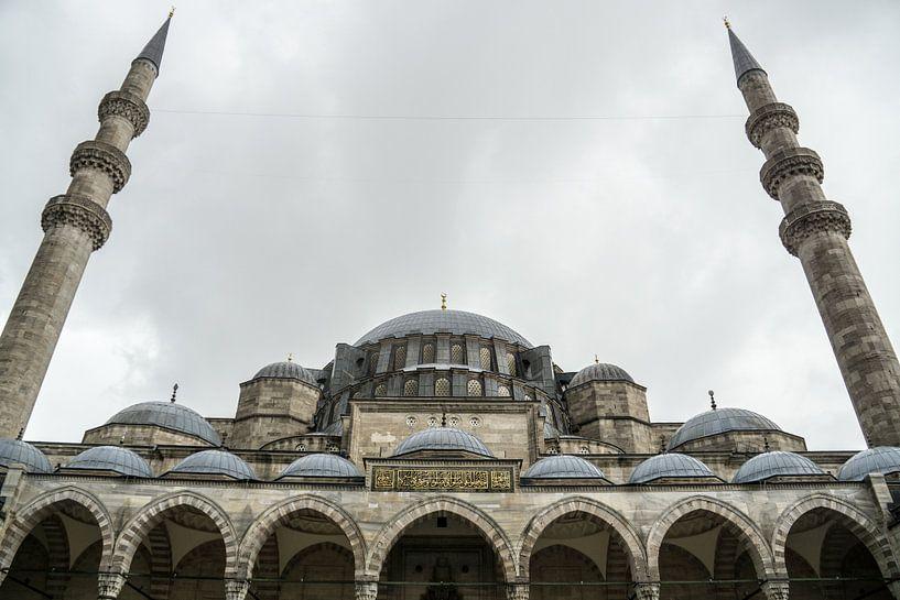 Moschee in Istanbul von Rob Bleijenberg